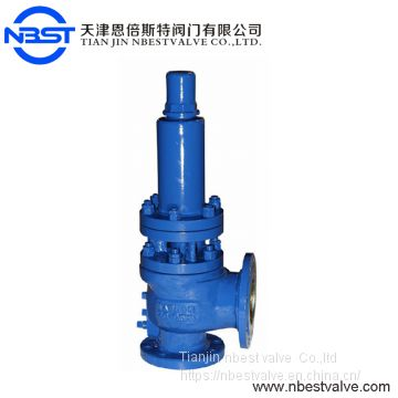 DN200 Large Size Safety Valve For Medium Gas,liquid With A Radiator