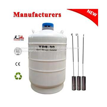 TIANCHI Cryogenic freezer 30L Semen container YDS-30L price in RS