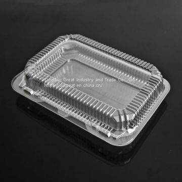 Clear plastic cake biscuit baking packaging box