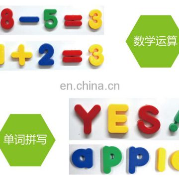 wholesale educational toy magnetic letter english learning toys plastic puzzle toys
