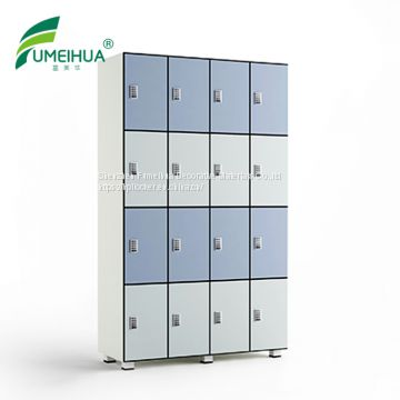 fireproof fine design cheap yoga studio hpl phenolic board  2 tier gym locker