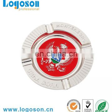 Cheap promotional cool ashtray with customized logo