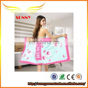 Thermal transfer foreign trade product beach towels daily specials