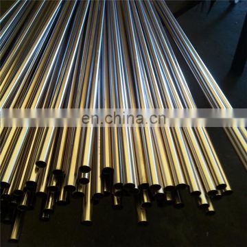 Mirror Finished cold rolled 201 304 316L 430 stainless steel pipe