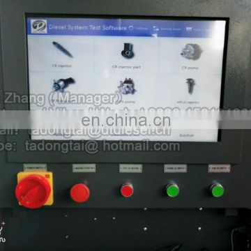 Professional Testing equipment of HEUI pump and injector , CR injector