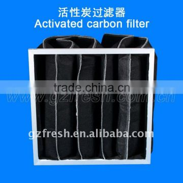 HOT SALE Activated carbon bag filter for air conditioner
