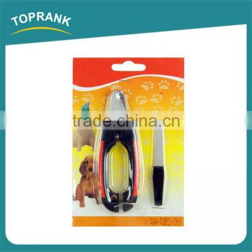 Hot sale cat dog nail file nail clipper stainless steel pet grooming kit