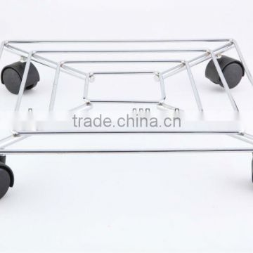 home removable metal flower shelf Plant Trolley