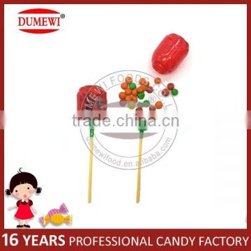 Rose Shape Toy Candy with Chocolate Bean for Valentines