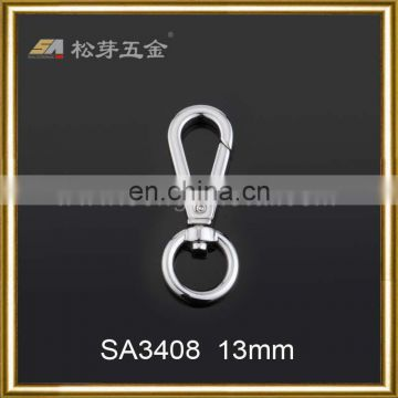 simple working zinc alloy gold plated swivel hooks