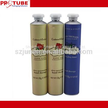 Collapsible Aluminum Hand Cream Packaging Tube