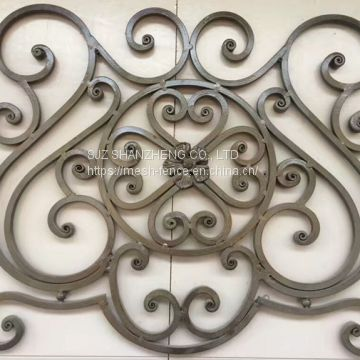 Wrought iron ornaments/ wrought iron elements/ wrought iron spearhead