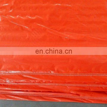orange reinforced corner polyethylene tarpaulin