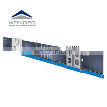 WONDEC Vertical Hydraulic Panel Press Insulating Glass Production Line