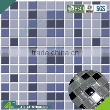 BSCI factory audit customized pvc free removable room decor 3d wall kitchen wall tiles stickers