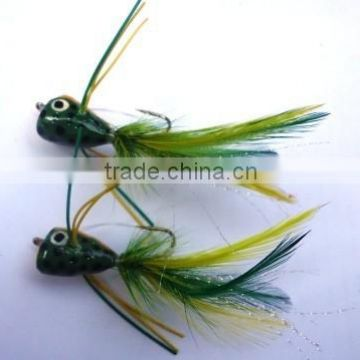 Bass Popper Frog - Bass popper flies