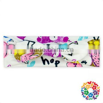 Baby Girls New Print Rabbit Ear Headband Knotted Headband Hair Accessories