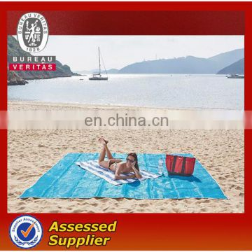 Amazon hot sale Outdoor Sand free Breathable Sandless Beach Mat