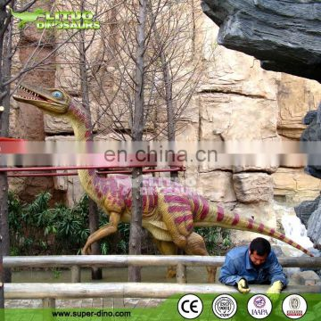 Hot selling amusement outdoor giant life size robot realistic dinosaur