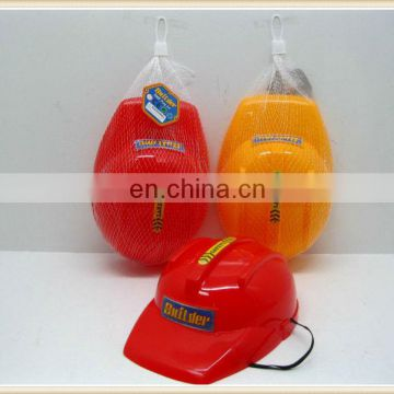 children plastic builder hat toy helmet