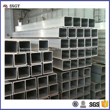 pre galvanized square steel pipe steel hollow tube/square hollow box section