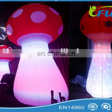 lights decors inflatable mushroom /inflatable led lights mushroom for sale / infatable mushroom decorations with led lights