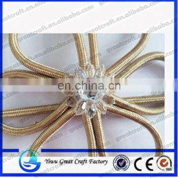 2014fashion decoration flower design curtain buckle/ Curtain Decoration & Accessories