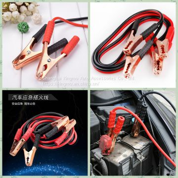 Power Line Car Truck Battery Booster Line Jumping Cables Power Fire Wire Gauge Booster Cable Jumping Cables Power Jumper