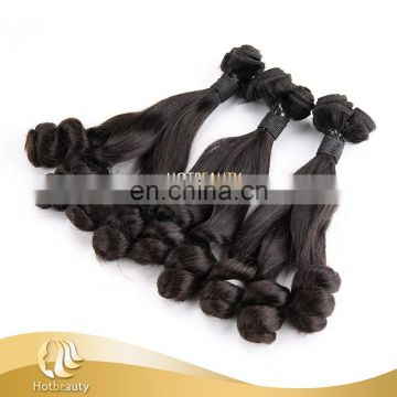 100% Raw unprocessed fascinating funmi hair raw spring curl human hair curly weave