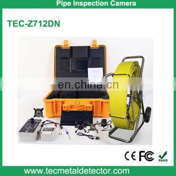 50mm camera drain pipe sewer pipeline inspection camera with keyboard and metre counter TEC-Z712DN