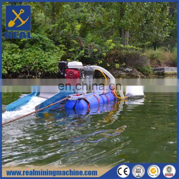 Gold mining equipment Multi size river gold dredge boat low price
