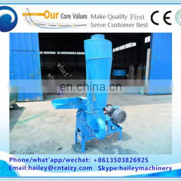 Auto coconut husk grinding machine/corn stick crusher machine/corn grinder machine for home