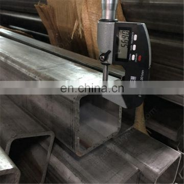 Stainless Steel Seamless Square Tube 321 & 316L
