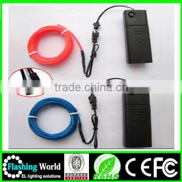 fashion attractive shinging el cable 2.3mm