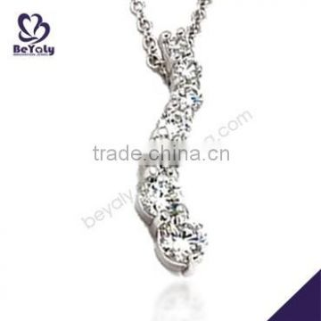 hot sale jewelry 2015 925 sterling silver simple necklace designs