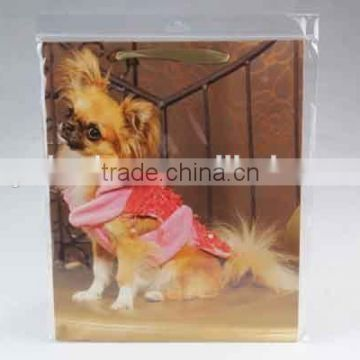 Foldable Gift Bag With dog's pictures/ Shopping Bag