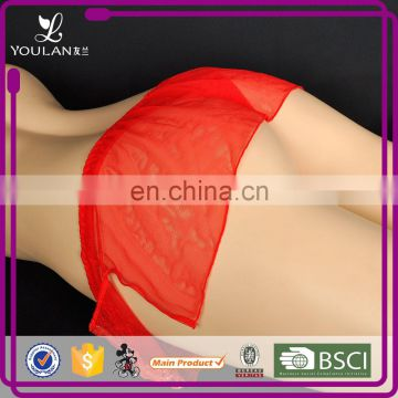 China Manafacturer Customized Full Lace Transparent Panties