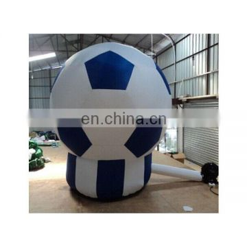 decoration giant inflatable advertising soccer for sale