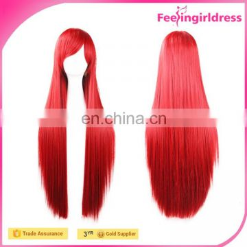 High quality Hot Selling Dark Red Human Hair Wig Fast Delivery