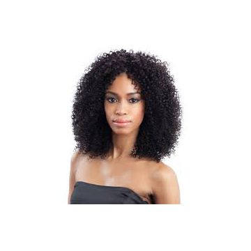 No Chemical Chocolate Jerry Curl Synthetic Hair Wigs 10inch - 20inch Body Wave
