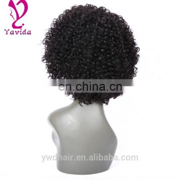 Brazilian Curly Lace Front Human hair Wig Glueless Full Lace Wigs With Baby Hair Short Curly Kinky Curly Full Lace Wigs