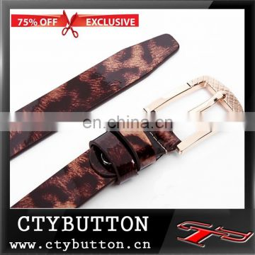 2015 fancy special animal leather men belt