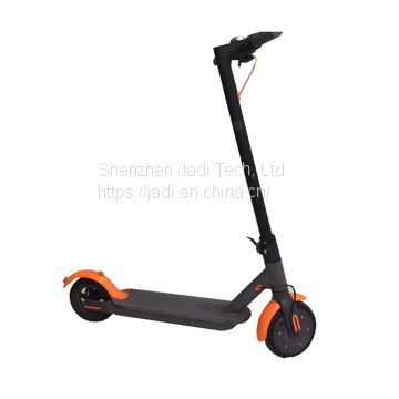 Electric Scooter, Lithium Battery Folded Adult Electric Scooter Aerospace Grade Aluminum Frame