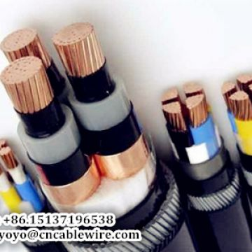 0.6/1KV Copper XLPE Power Cable With Steel Wire Armour