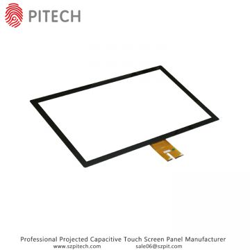 USB 15 Inches Capacitive Touch Glass For Industrial Touch Screen Monitor