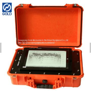 Seismic Tomograph Instrument WZG-24 Engineering Seismograph for Landslide Detection