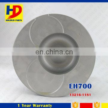 Diesel Engine EH700 EH700T Alfin Piston Fit For Hino 13216-1181 13216-1180 Diameter 110mm