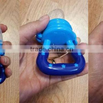 Dishwasher safe and Microwave safe food grade silicone baby training nipple feeder