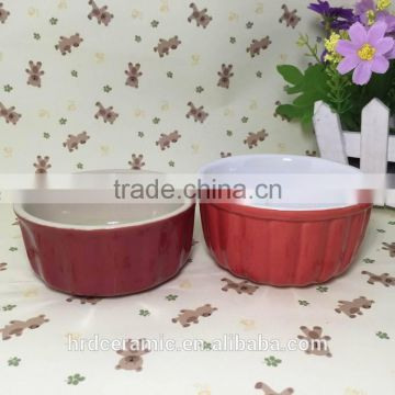 Stocked porcelain ceramic salad bowl chinese Colorful unique ceramic soup bowls