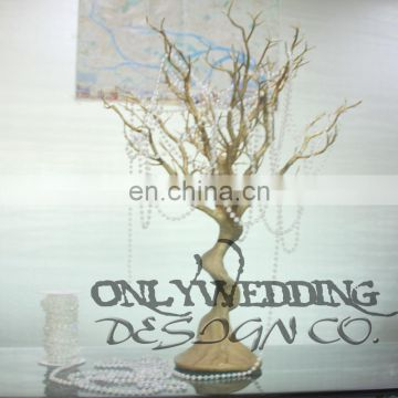 OW10142 wedding table centerpiece bronze artificial tree wedding tree reception tree